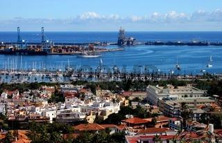 Hafen von Las Palmas de Gran Canaria