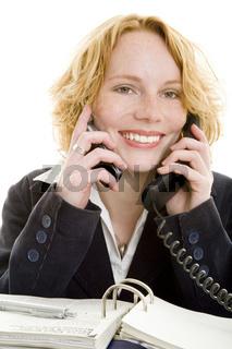 Simultan telefonieren