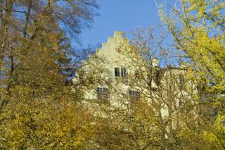 Giebel der Burg Meersburg