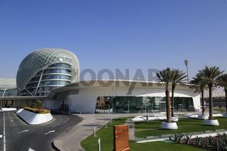 Abu Dhabi, Viceroy Hotel beim Yas Marina Cirquit