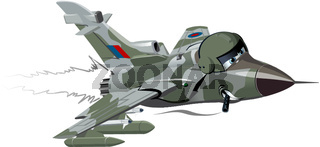 Cartoon Fighter Plane