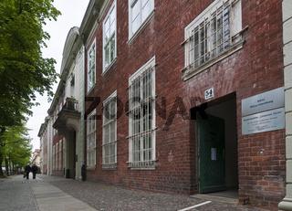 Aussenansicht des ehemaligen Untersuchungsgefaengnis der Stasi in der Lindenstrasse 54, genannt Lindenhotel, Potsdam, Brandenburg   Exterior, Former prison of the state security service of the GDR, Potsdam, Brandenburg