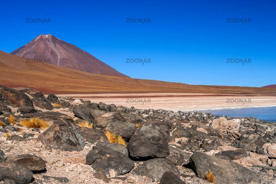 Altiplano volcanic landscape