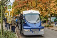 Binzer Bäderbahn im Herbst