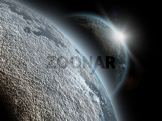 planet in cosmos