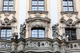 In der Altstadt von Breslau