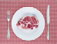Meat Plates Cutlery