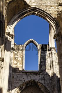 Convento do Carmo, Lissabon, Portugal