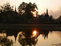 UNESCO Weltkulturerbe Sukhothai Tempelruinen,Thailand