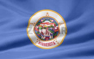 Flagge von Minnesota - USA