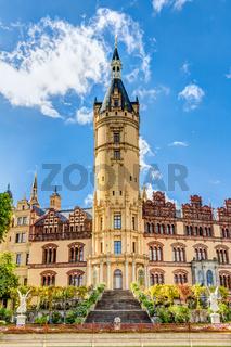 Schweriner Schloss, Sitz des Landtags von Mecklenburg-Vorpommern