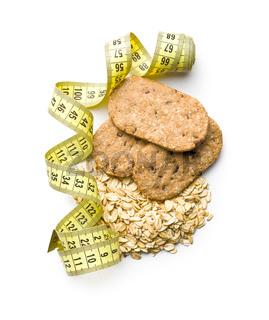 Tasty oatmeal cookies.