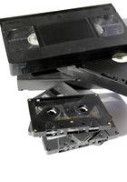 Video und Audio Kassetten