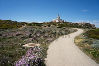 Leuchtturm am Capo Testa