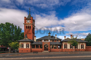 Historisches Courthouse von Wagga Wagga, New South Wales, Australien