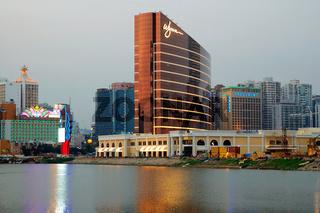 A new casino architecutre (wynn) in Macau