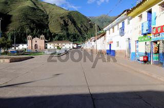 Qoya Peru - Ortsmitte