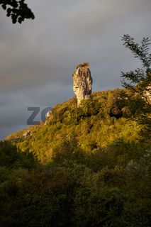 Katskhi Pillar, Georgien