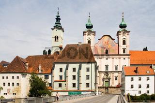 Pfarrkirche Sankt Michael in Steyr, Mostviertel, Niederösterreich, Österreich - parish church Sankt Michael,  Mostviertel Region, Lower Austria, Austria