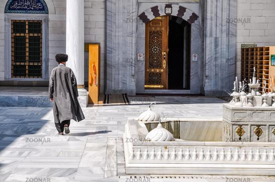 Walking man in Ashgabat