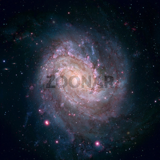 Messier 83 is a barred spiral galaxy in the constellation Hydra.