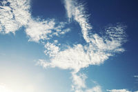 beauty of clouds on sky.