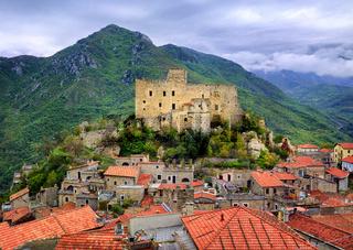 Castelvecchio di Rocca Barbena, Liguria, Italy