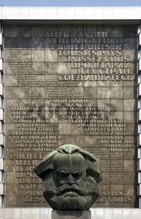 Karl-Marx-Denkmal, Chemnitz, Deutschland