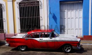 Oldtimer,Trinidad,Kuba