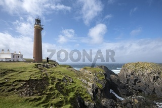 Der Leuchtturm am Butt of Lewis, Isle of Lewis
