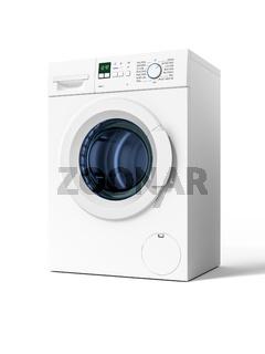 typical isolated washing machine