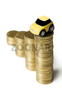 Savings Insurance Money for a Car
