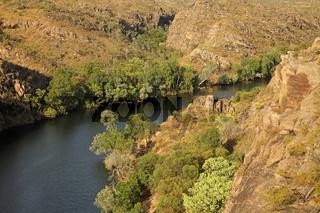 Katherine River + Gorge im Nitmiluk Nationalpark bei Katherine