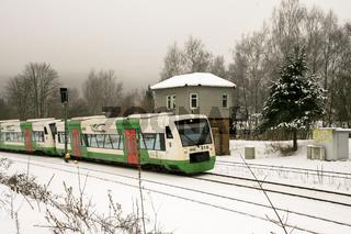Südthüringenbahn in Zella-Mehlis