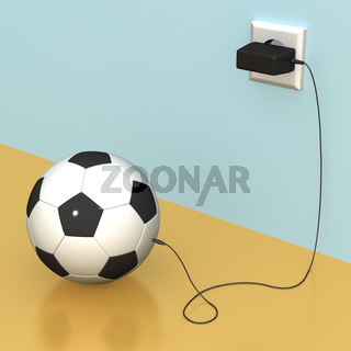 Ball and recharger