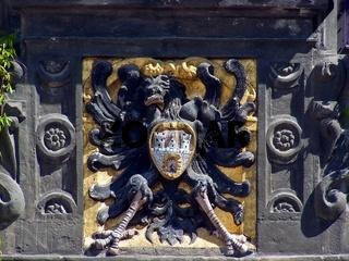 Wappen am Rathaus zu Quedlinburg