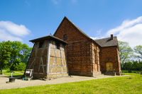 Dorfkirche Balow, Amt Grabow, Mecklenburg-Vorpommern, Deutschland
