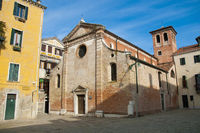 San Giacomo da l Orio church at Venice, Italy