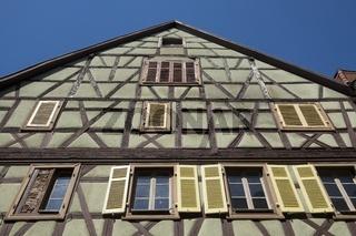 Fachwerkhaus in der Altstadt von Colmar