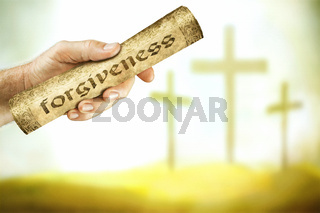 The message of forgiveness from the cross