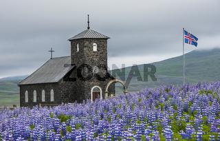Church Dingeyrar Iceland