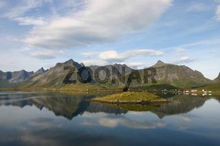 Reflections in Norwegian Fjord