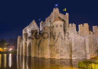 Gravensteen castle in Gent - Belgium