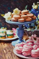confectionery showcase close up