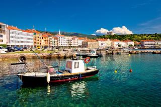 Coastal town of Senj view
