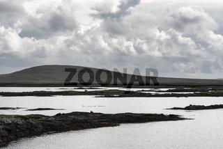 Küstenlandschaft auf der Insel North Uist