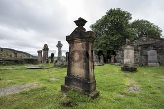 Alte Grabsteine auf dem Friedhof von Kilmartin