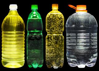 Lemonade, oil and water set