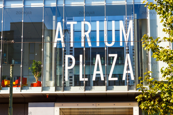 Frankfurt am Main, Atrium Plaza.
