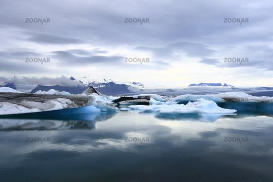 Der See Jökulsárlón